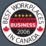 Best of Banff is the 16th Best Workplace of the Year - 2006